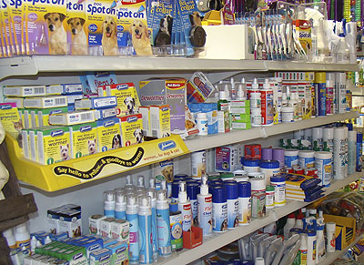 we stock a huge range of flea products for different animals